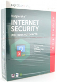 Антивирус Kaspersky Internet Security, 2ПК, 1 год, коробка [KL1941RBBFS]