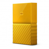 "Жесткий диск WD Original USB 3.0 1Tb WDBBEX0010BYL-EEUE My Passport 2.5"" желтый"