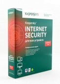 Антивирус Kaspersky Internet Security, 3ПК, 1 год, коробка [KL1941RBCFS]