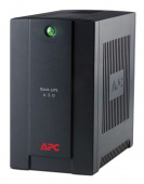Источник бесперебойного питания APC BX650CI-RS,  Back-UPS RS, 650VA/390W, 230V, AVR, 3xSchuko outlets (battery backup), DSL protection, USB