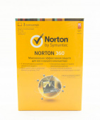 ПО Symantec Norton 360 RU 1 User /3 licence renewal Box (Продление)