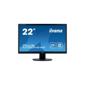 "Монитор Iiyama 21.5"" X2283HS-B3 черный 1920x1080, VA, 4ms, 250cd, 178°/178°, HDMI, DVI, M/M, D-Sub, DisplayPort, USB"
